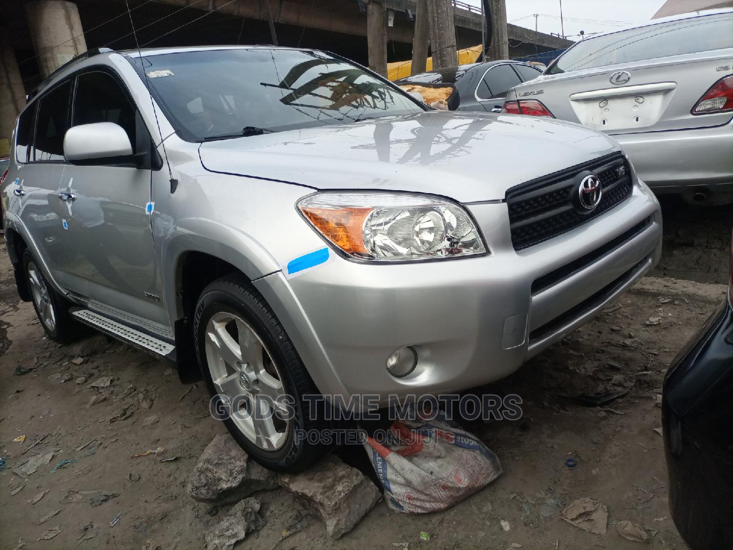 Toyota RAV4 2008 Limited V6 Silver   Cars for sale in Apapa, Lagos State, Nigeria
