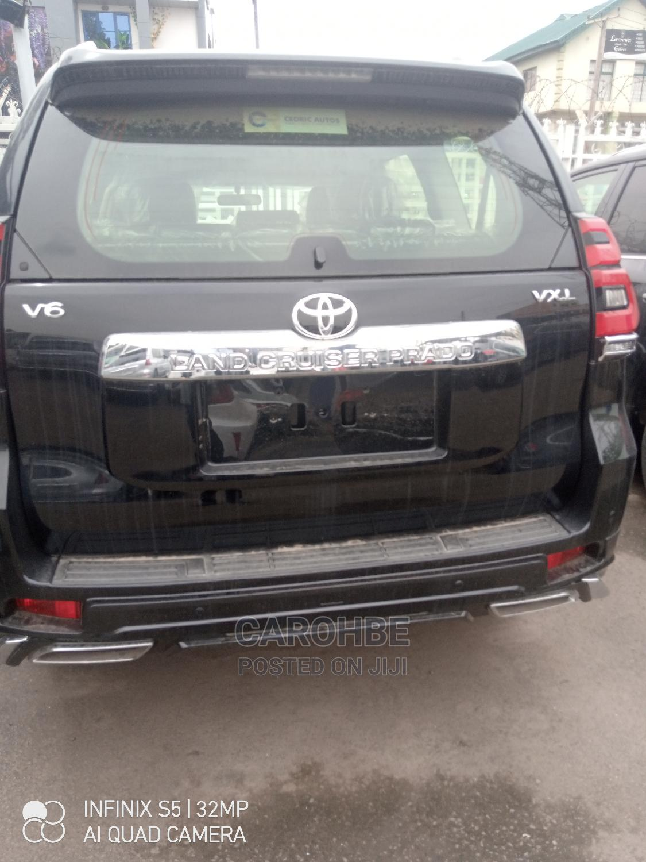 New Toyota Land Cruiser Prado 2020 2.7 Black