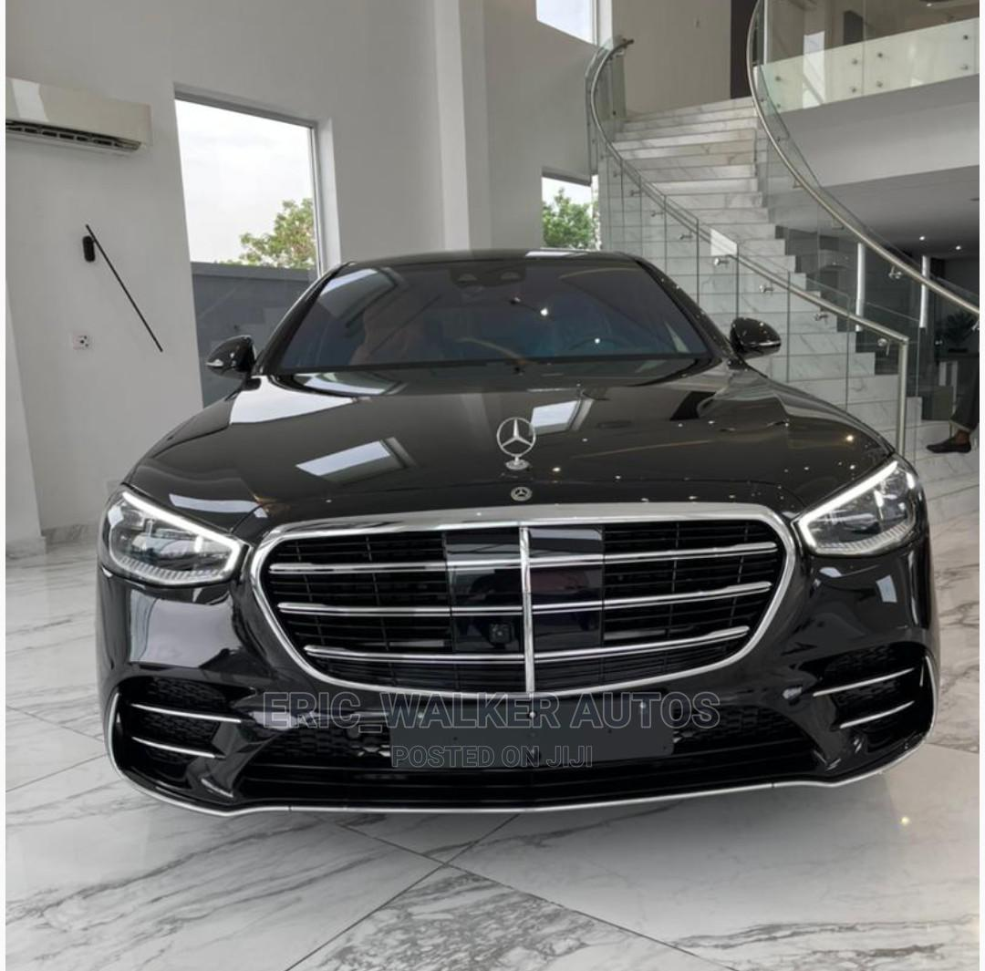Archive: New Mercedes-Benz S Class 2021 Black