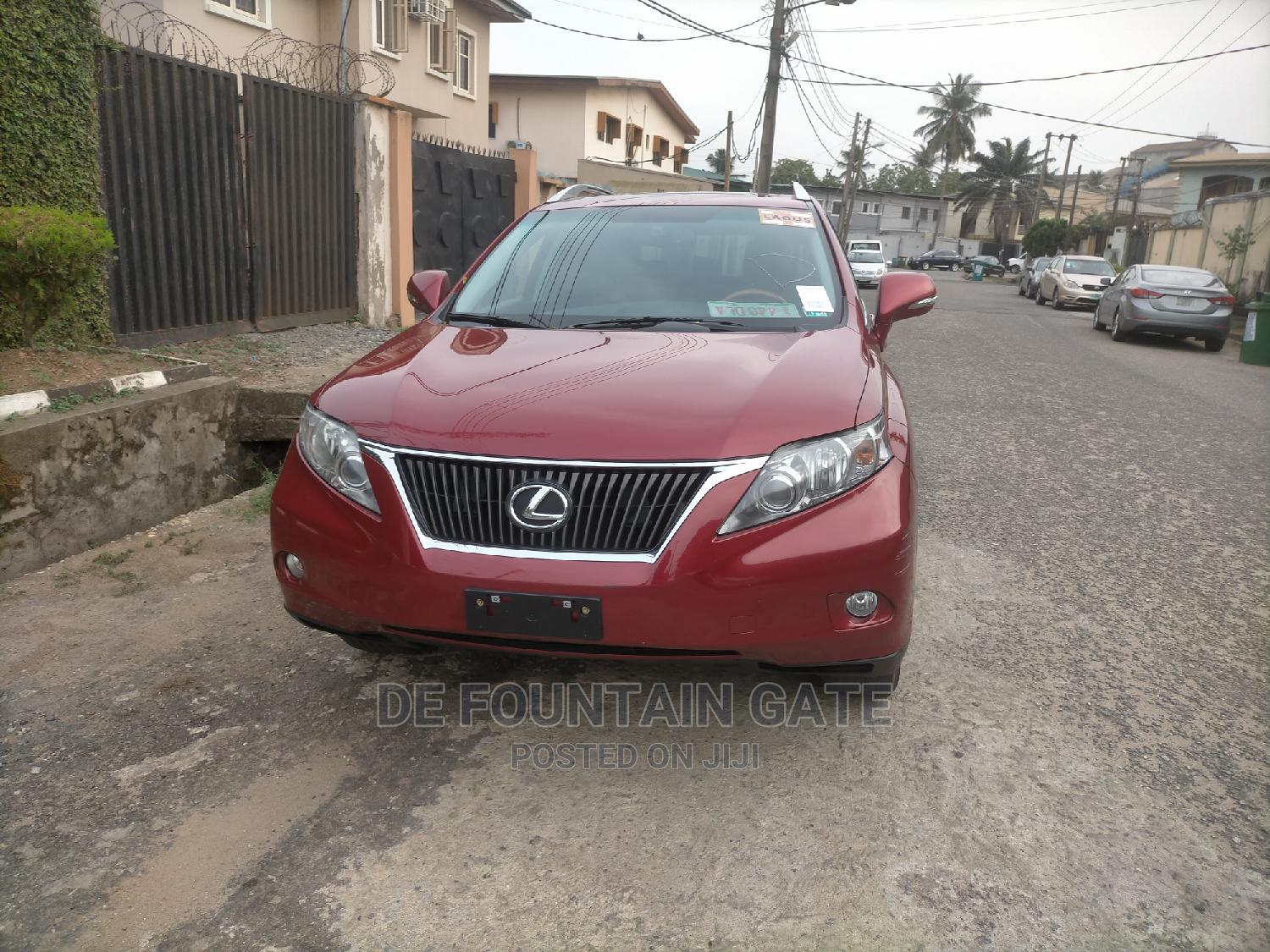 Lexus RX 2010 350 Red | Cars for sale in Ikeja, Lagos State, Nigeria