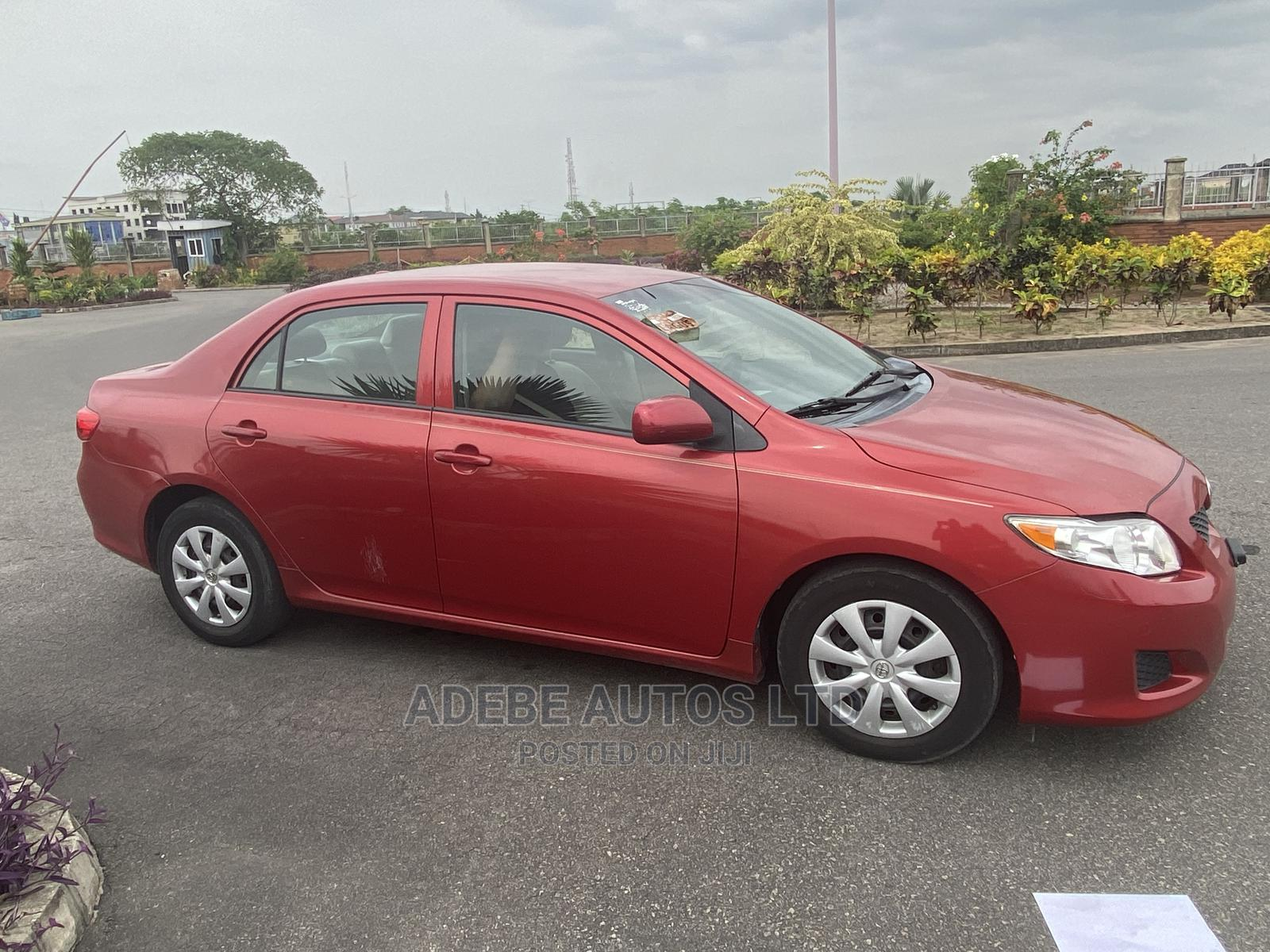 Toyota Corolla 2010 Red | Cars for sale in Ajah, Lagos State, Nigeria