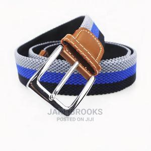 Elastic Canvas Belt for Men   Clothing Accessories for sale in Lagos State, Kosofe