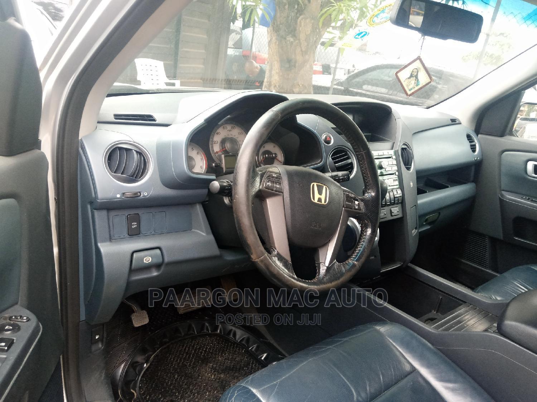 Honda Pilot 2009 EX 4dr SUV (3.5L 6cyl 5A) Silver | Cars for sale in Amuwo-Odofin, Lagos State, Nigeria