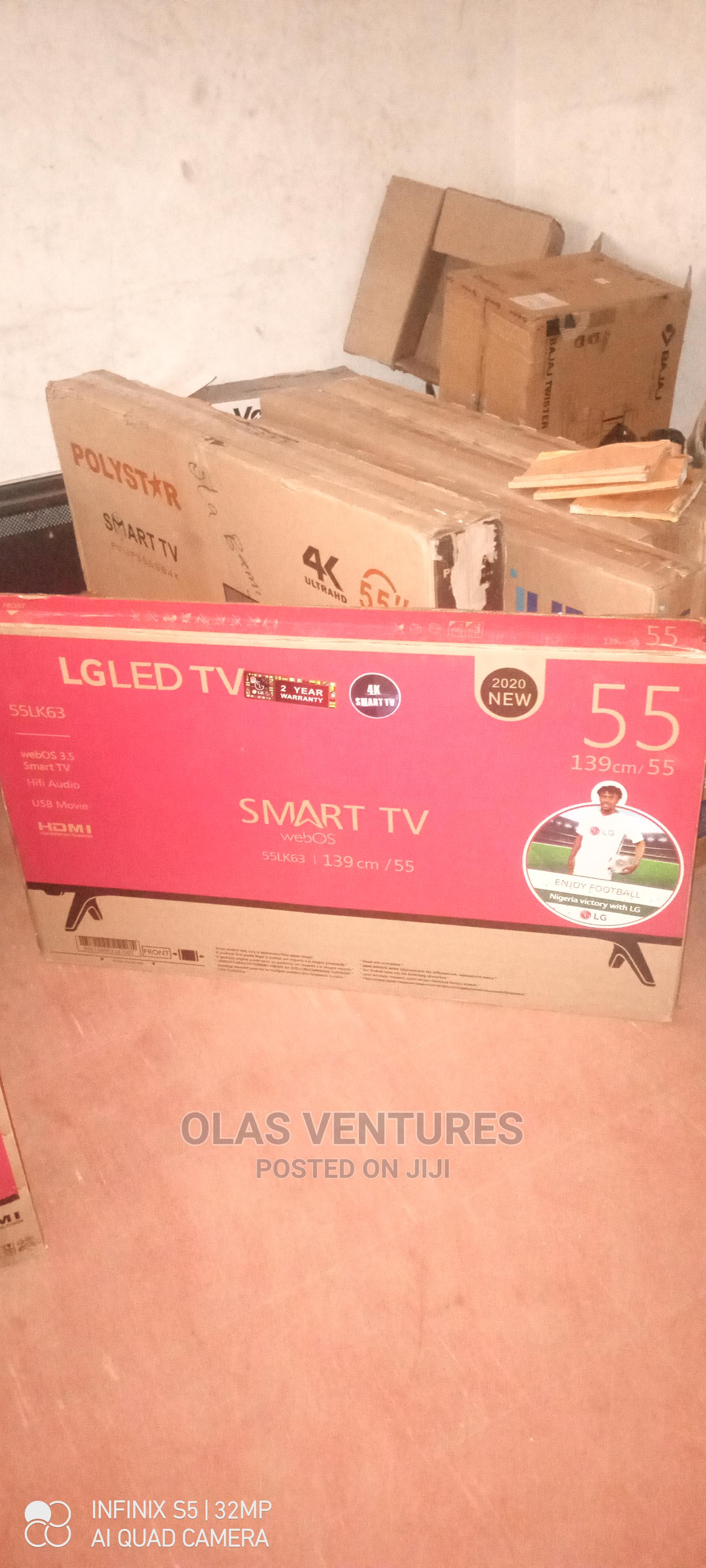LG Smart TV 55 Inches | TV & DVD Equipment for sale in Ibadan, Oyo State, Nigeria