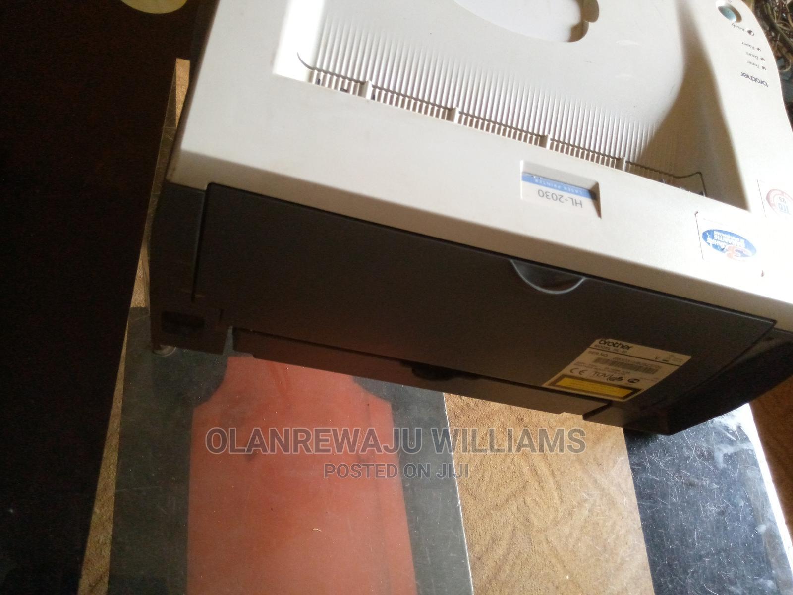 Brother HL 2030 Printer (Toner)   Printers & Scanners for sale in Ado-Odo/Ota, Ogun State, Nigeria