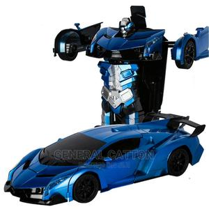 RC Car Transformation Robots Sports Vehicle   Toys for sale in Lagos State, Lagos Island (Eko)