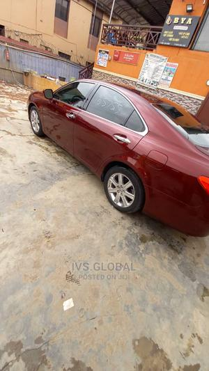 Lexus ES 2008 350 Purple | Cars for sale in Lagos State, Ikeja