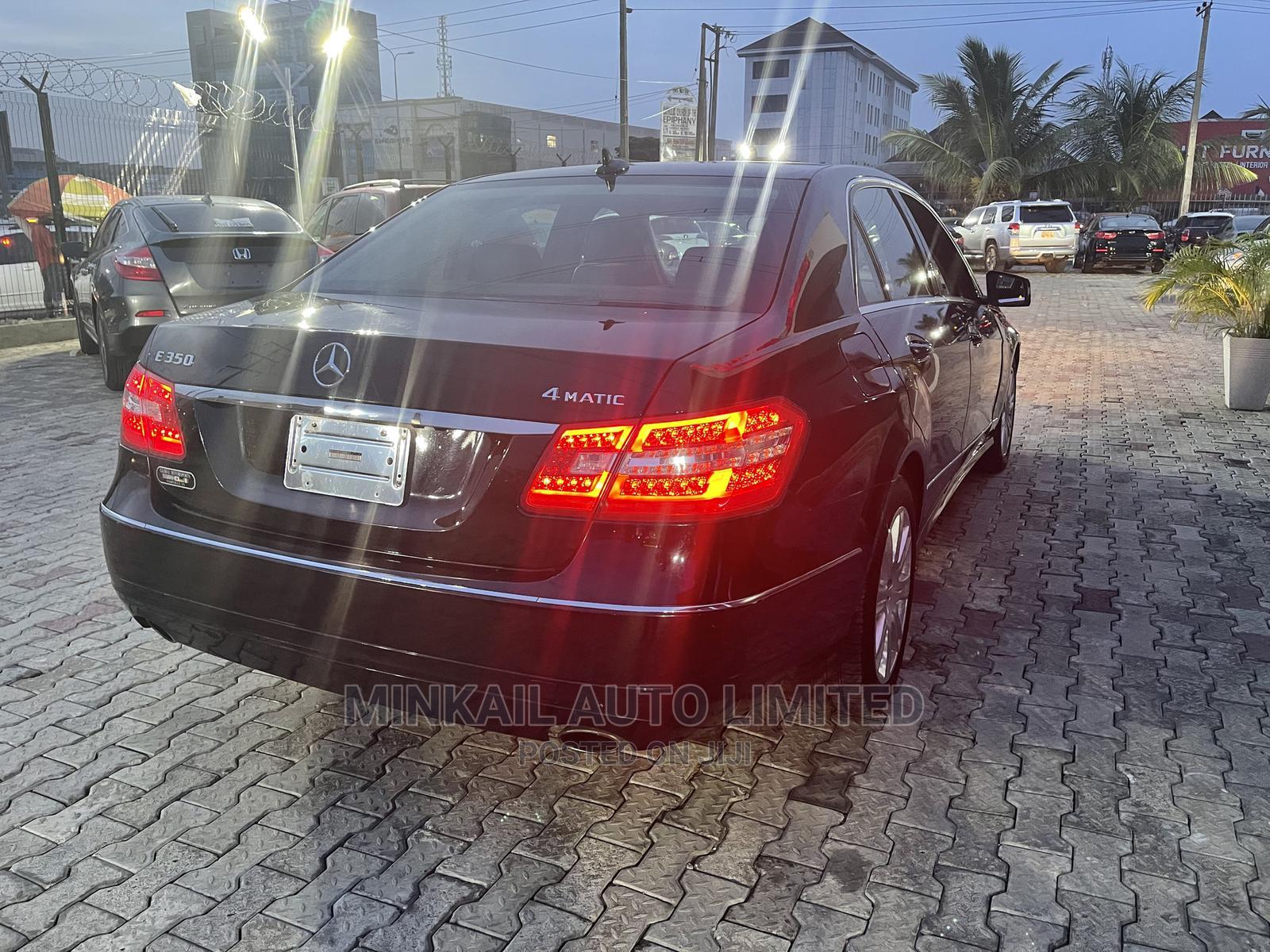 Mercedes-Benz E350 2012 Black   Cars for sale in Lekki, Lagos State, Nigeria