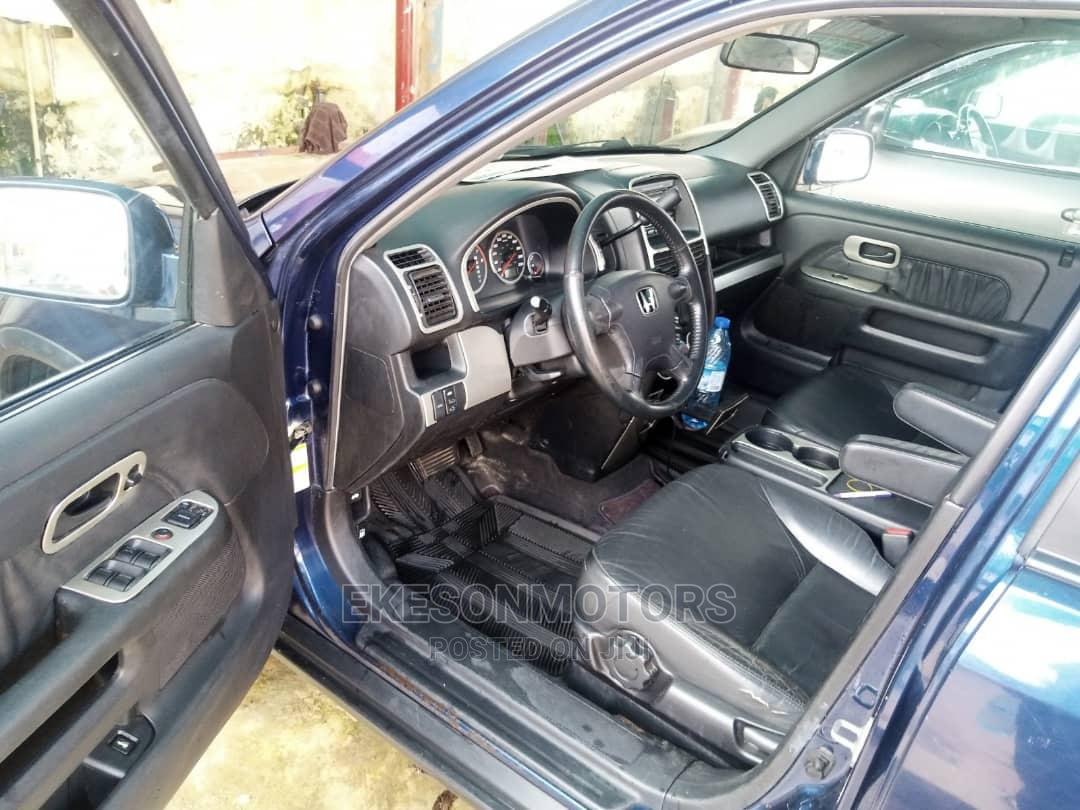 Archive: Honda CR-V 2004 EX 4WD Automatic Blue
