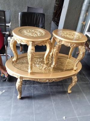 Royal Center Table and 4 Side Stools   Furniture for sale in Lagos State, Ojo