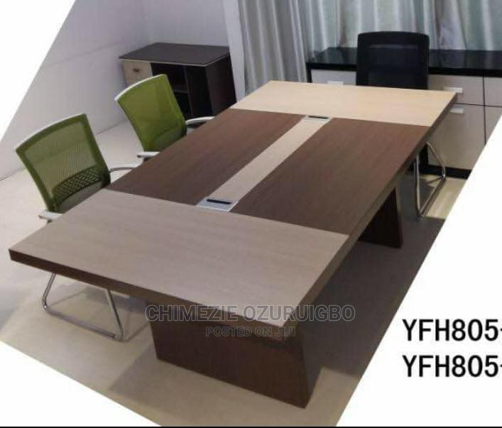 2 Meters Brown Conference Table