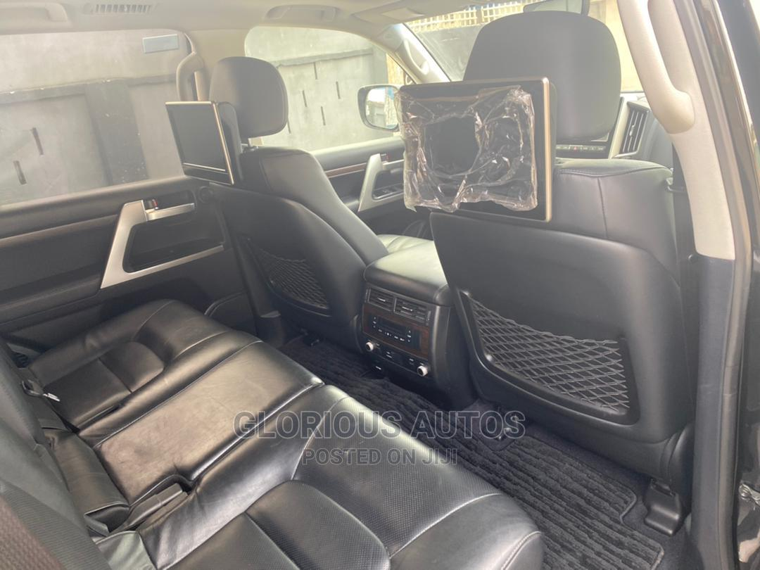 Toyota Land Cruiser 2016 5.7 V8 VXR Black   Cars for sale in Isolo, Lagos State, Nigeria