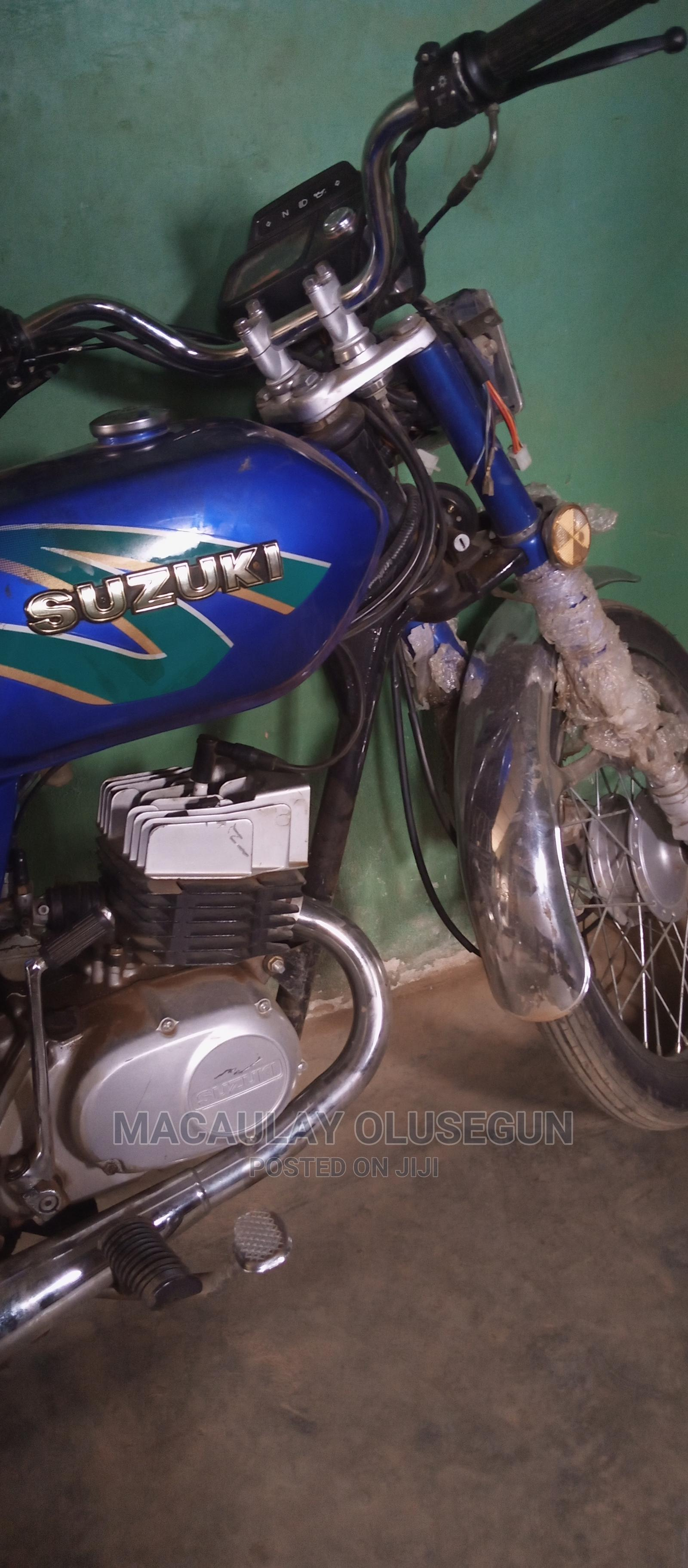 New Suzuki Bike 2014 Blue | Motorcycles & Scooters for sale in Ado-Odo/Ota, Ogun State, Nigeria