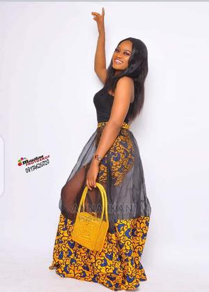Mixed Ankara Skirt and a Top | Clothing for sale in Lagos State, Ifako-Ijaiye