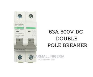 63A 500V DC Double Pole Breaker   Electrical Equipment for sale in Lagos State, Ikeja