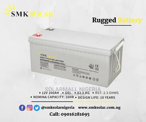 12V 200ah Gel Battery   Solar Energy for sale in Lagos State, Alimosho