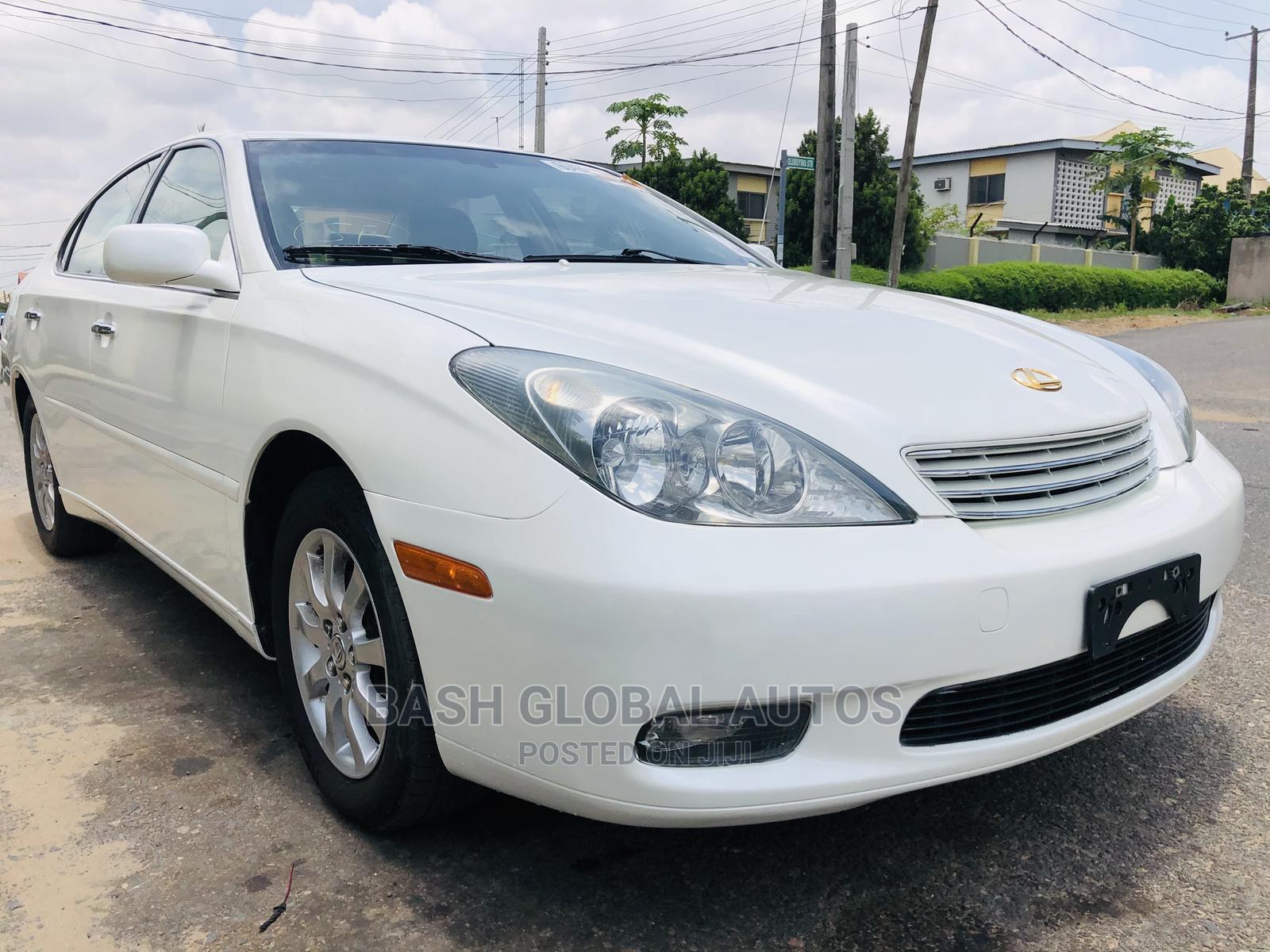 Lexus ES 2003 330 White