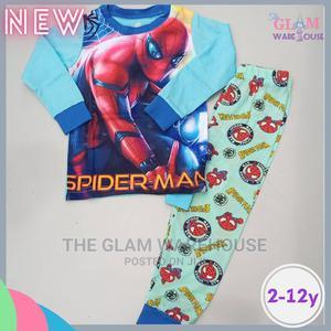 Spider Man Kids Boys Night Wear Sleep Pyjamas Set 2yrs | Children's Clothing for sale in Lagos State, Surulere