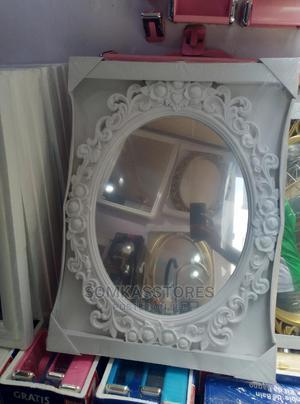 Decorative Classic White Bathroom Mirror   Home Accessories for sale in Lagos State, Surulere