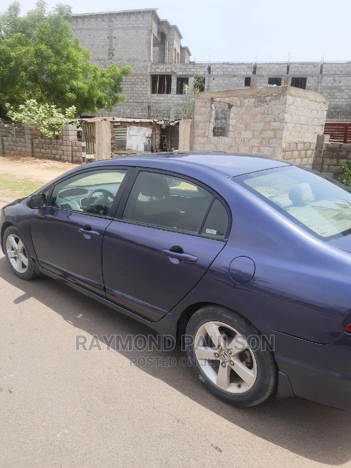 Honda Civic 2008 1.8 EX Blue | Cars for sale in Lugbe District, Abuja (FCT) State, Nigeria