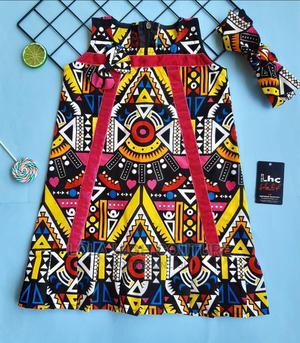 Kid's Ankara Shift Dress   Children's Clothing for sale in Ogun State, Obafemi-Owode