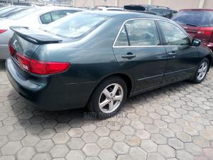 Honda Accord 2005 Sedan EX Automatic Green | Cars for sale in Lagos State, Ikeja