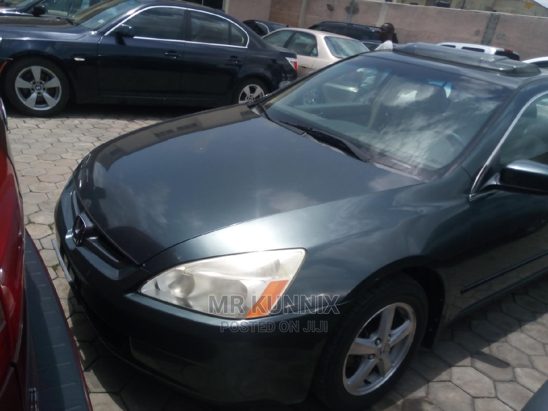 Honda Accord 2005 Sedan EX Automatic Green | Cars for sale in Ikeja, Lagos State, Nigeria
