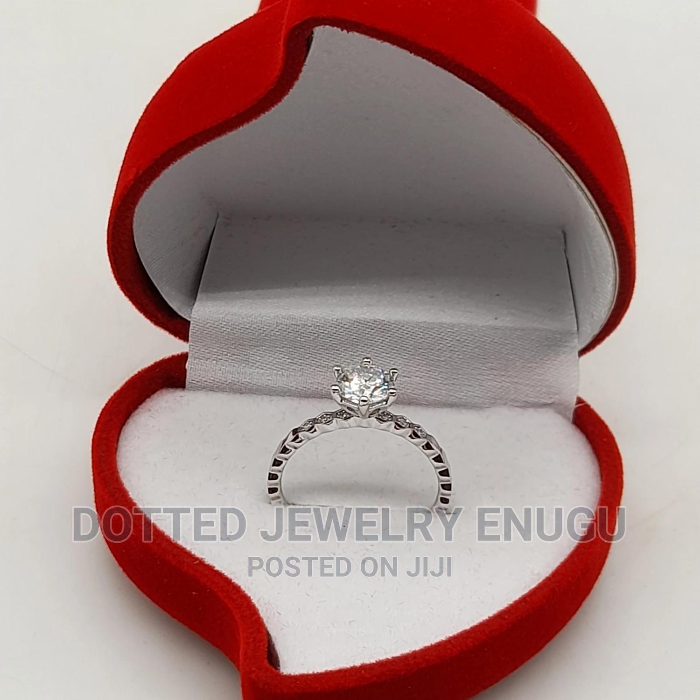 Unique Diamond Engagement and Wedding Ring