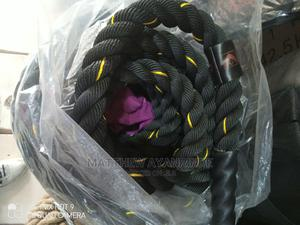 Black Thug of War Rope Black   Sports Equipment for sale in Lagos State, Yaba