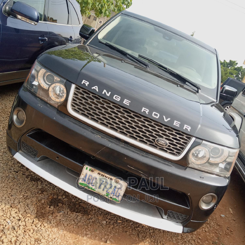 Land Rover Range Rover Sport 2012 Black