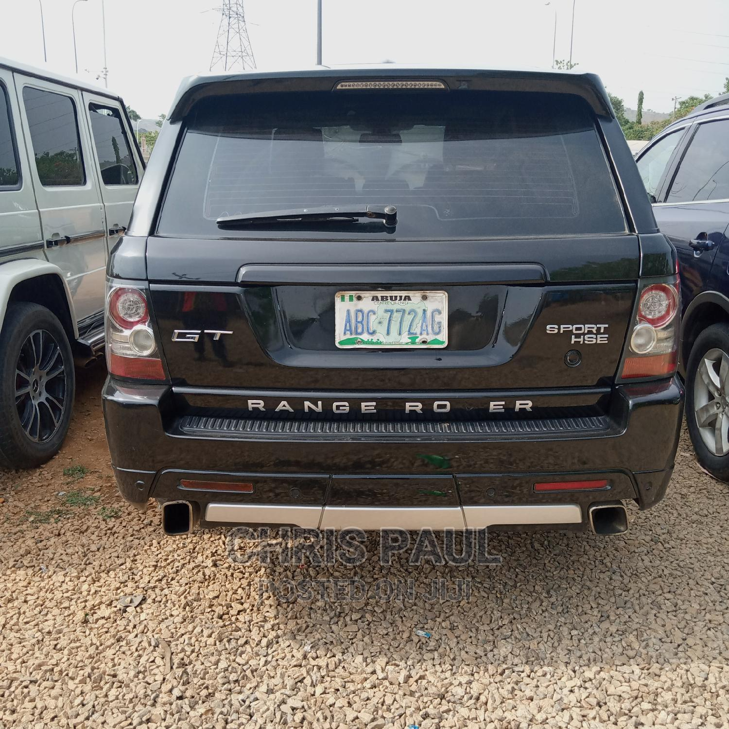 Land Rover Range Rover Sport 2012 Black | Cars for sale in Gwarinpa, Abuja (FCT) State, Nigeria