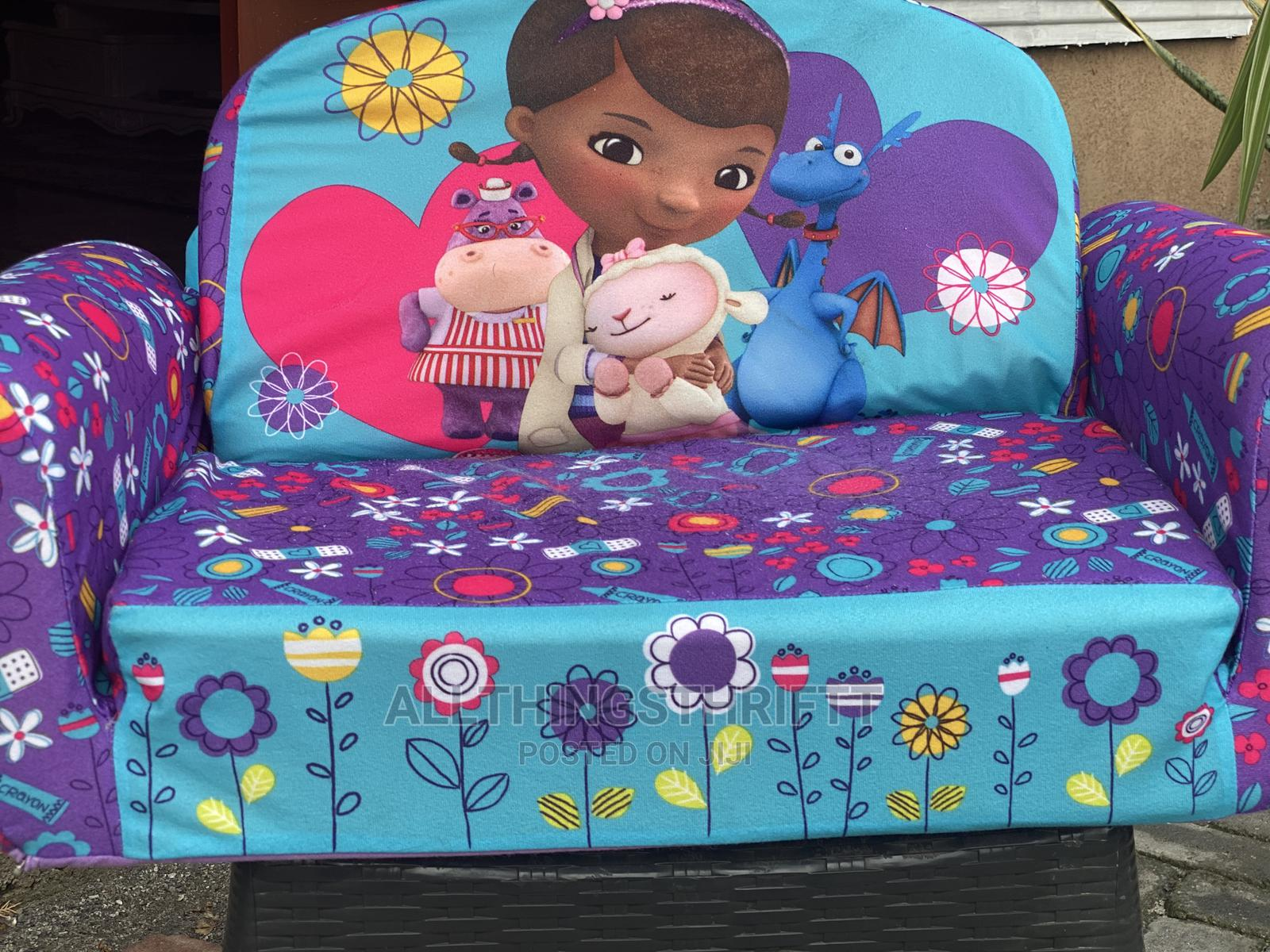 Tokunbo Uk Used 2in1 Sofa and Sleeper   Children's Furniture for sale in Surulere, Lagos State, Nigeria