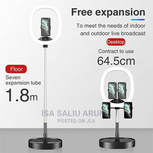 Ws8 5G LED Big Ring Light + One Additional Phone Stand   Accessories for Mobile Phones & Tablets for sale in Lagos State, Alimosho