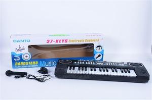 37 Key Electronic Keyboard With Microphone Charger | Toys for sale in Lagos State, Magodo