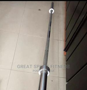 Iron Olympic Barbell | Sports Equipment for sale in Lagos State, Victoria Island