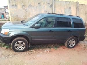 Honda Pilot 2005 EX 4x4 (3.5L 6cyl 5A) Blue | Cars for sale in Lagos State, Ifako-Ijaiye