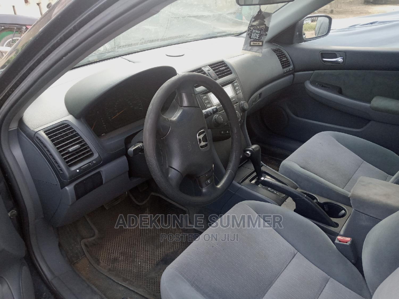 Honda Accord 2004 Automatic Black | Cars for sale in Amuwo-Odofin, Lagos State, Nigeria