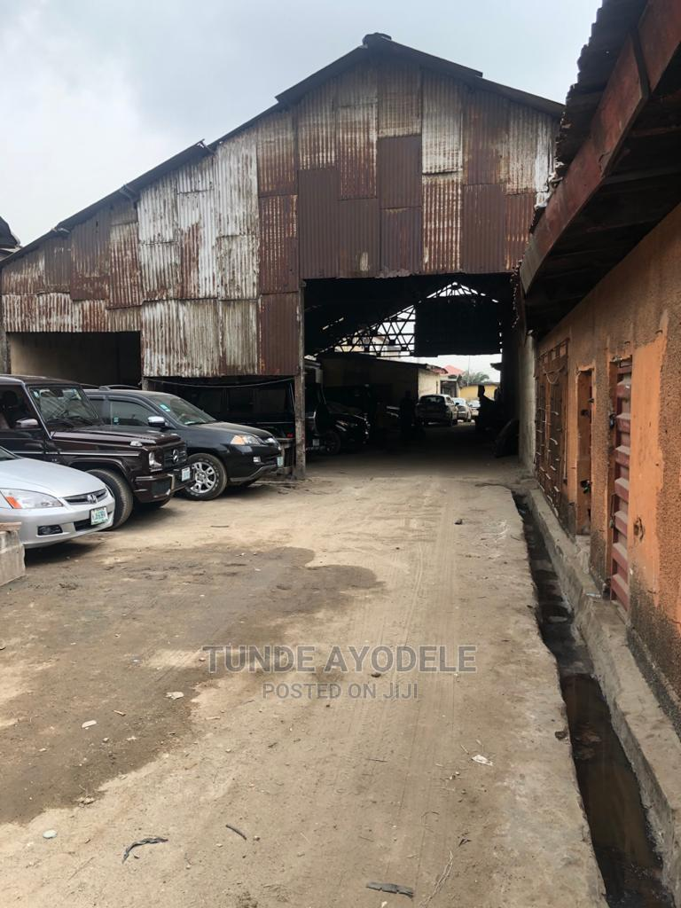 Archive: A Big Bay Warehouse on 1acre of Land at Denton St Oyingbo