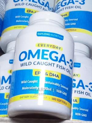 Omega 3 Wild Caught Fish Oil 180sofgel | Vitamins & Supplements for sale in Lagos State, Ojo