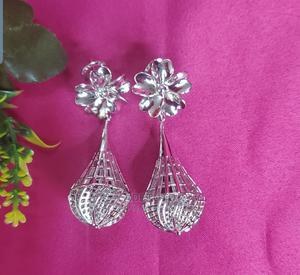 Trendy Tarnish Free Silver Plated Earrings   Jewelry for sale in Lagos State, Ajah