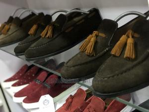 Brown Suede Loafers With Tassel | Shoes for sale in Lagos State, Mushin