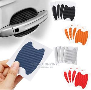 4pcs/Set Car Door Sticker Scratch Resistant Cover Car Handle   Vehicle Parts & Accessories for sale in Lagos State, Shomolu