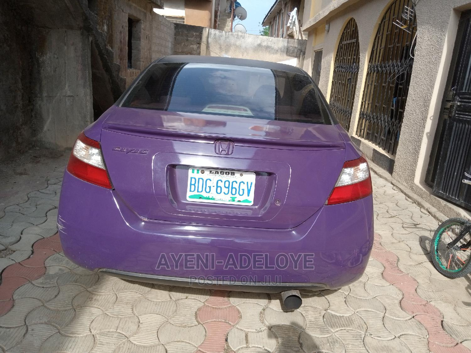 Honda Civic 2007 1.8 Coupe DX Automatic Purple | Cars for sale in Ibadan, Oyo State, Nigeria