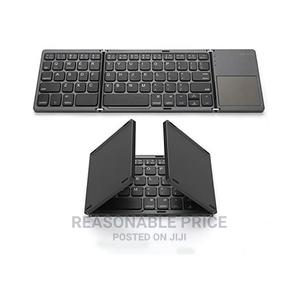 Mini Portable Foldable Keyboard Bluetooth Wire   Computer Accessories  for sale in Lagos State, Ikeja