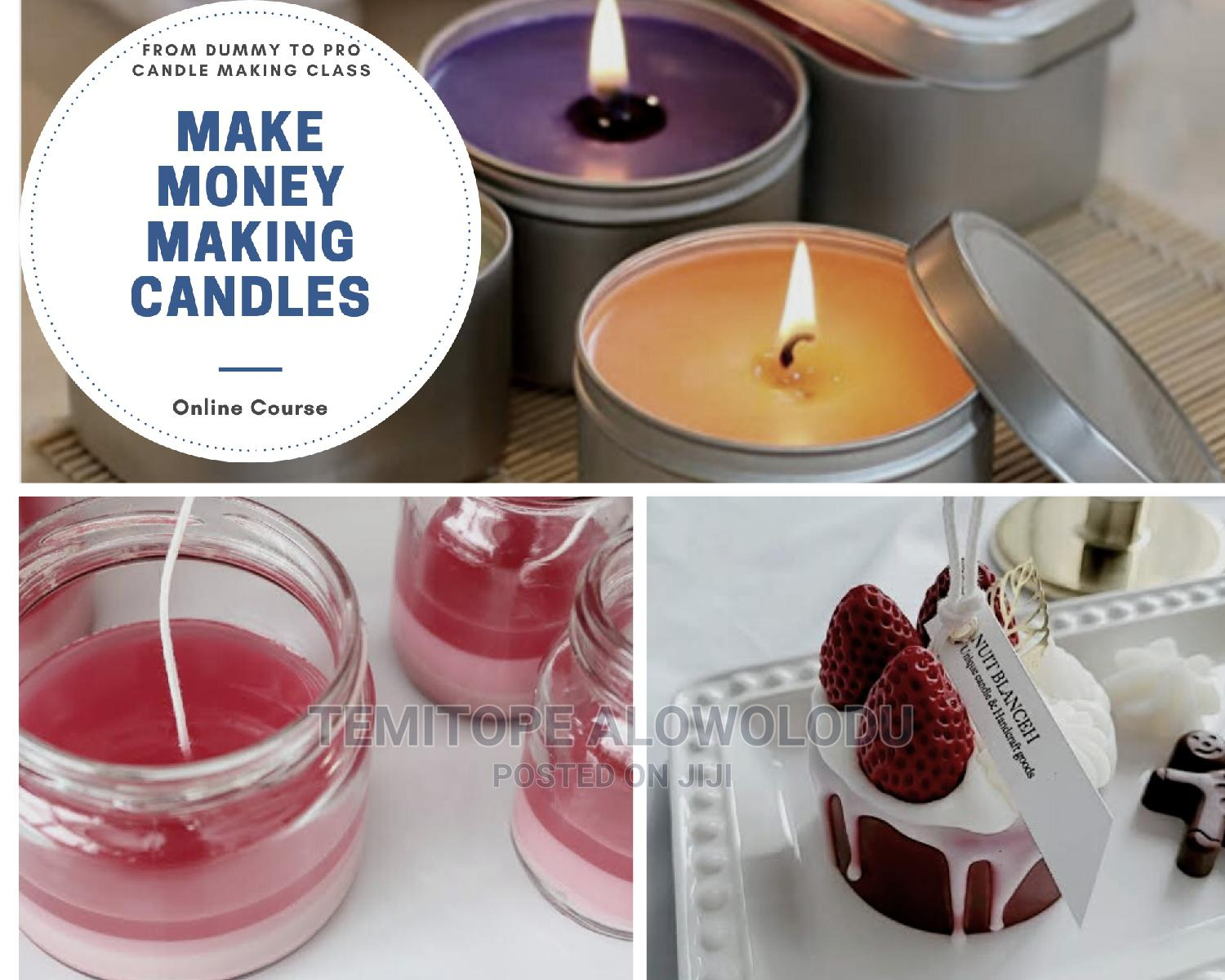 Archive: CANDLE MAKING CLASS(From Dummy to Pro)