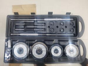 50kg Chrome Dumbbell | Sports Equipment for sale in Lagos State, Surulere