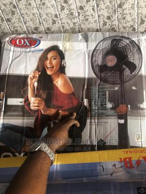 Ox 18inchs Rechargeable Standing Fan( New Model) | Home Appliances for sale in Lagos State, Ikeja