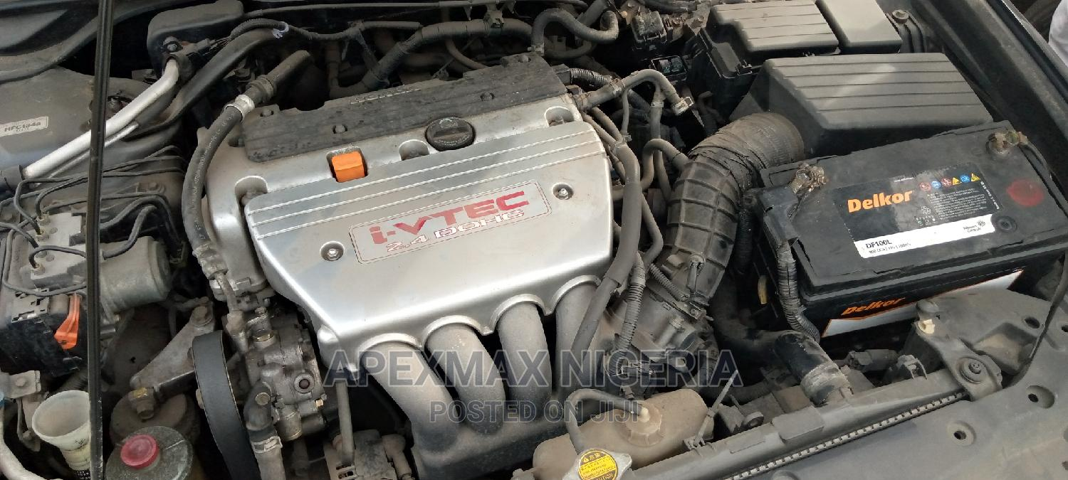 Honda Accord 2004 Tourer 2.4 S-Type Gray | Cars for sale in Ojo, Lagos State, Nigeria
