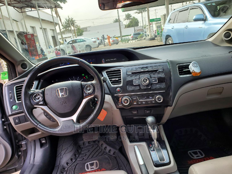 Honda Civic 2014 Gray | Cars for sale in Ikeja, Lagos State, Nigeria