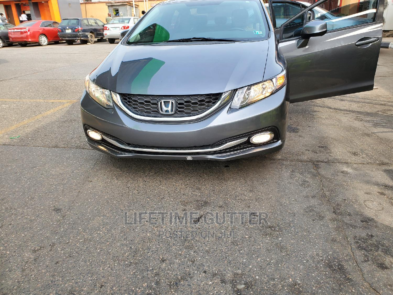 Honda Civic 2014 Gray | Cars for sale in Ikeja, Lagos State, Nigeria